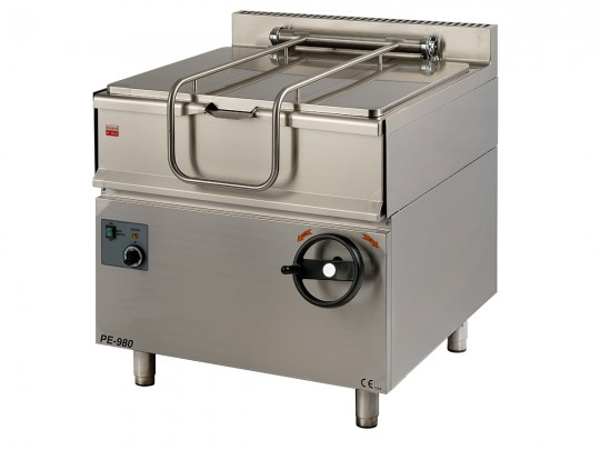 Electric tilting bratt pans