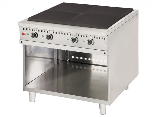 Electric stoves with base